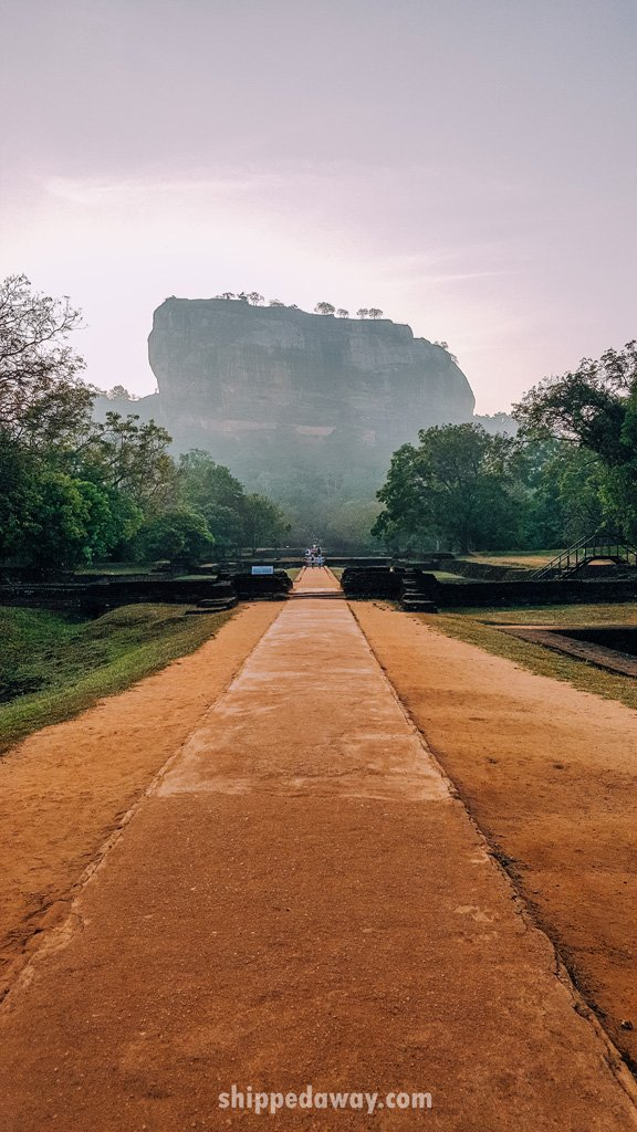 Entrance to Sigiriya, Sri Lanka