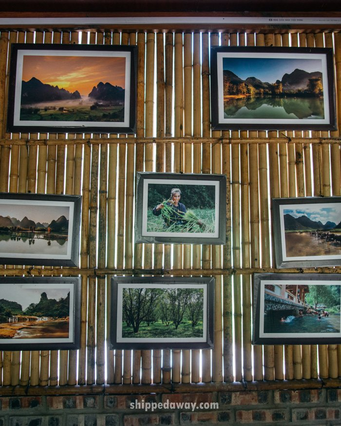 Photo gallery at Lan's homestay in Ban Gioc