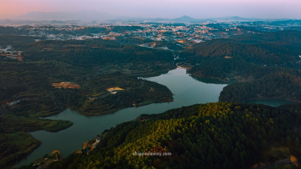 Da Lat from air