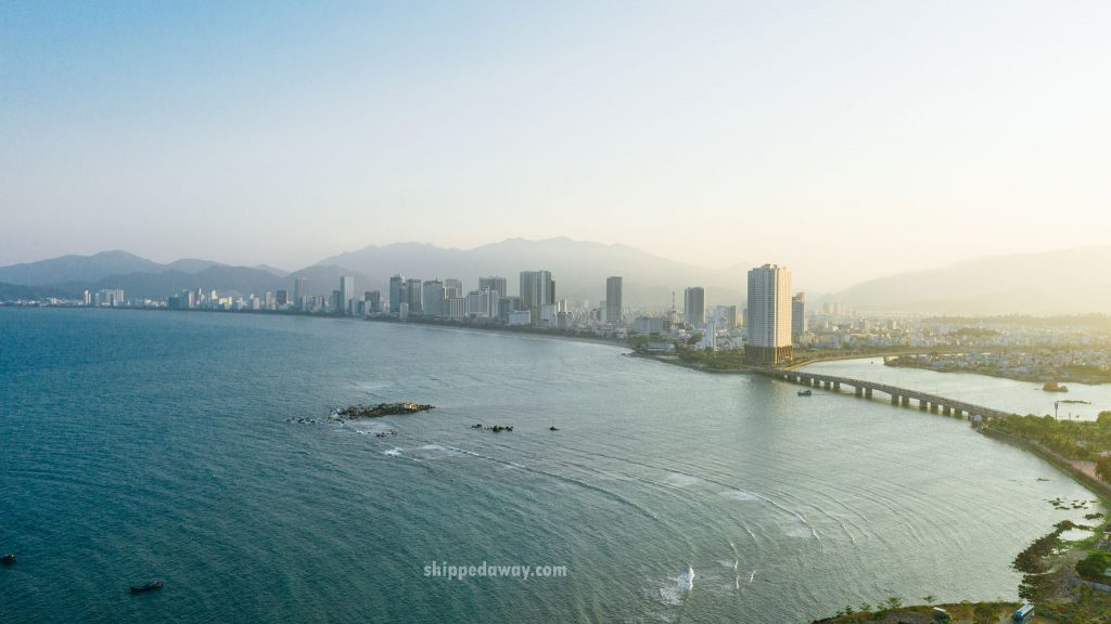 Nha Trang City from air