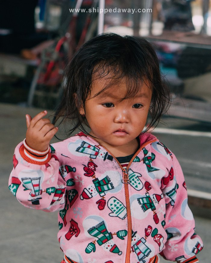 Local girl at Pa Co Market, Vietnam