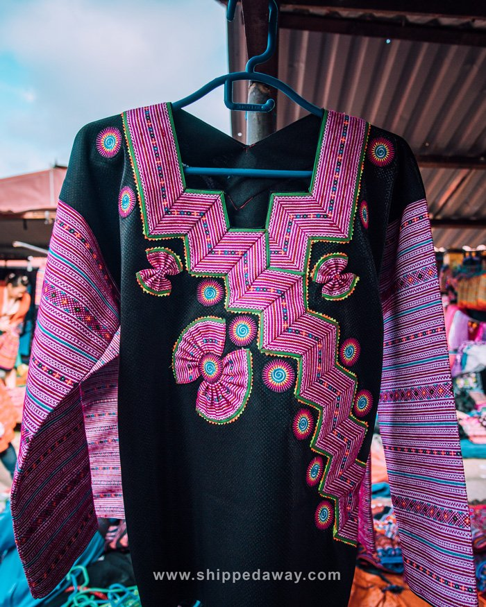 Traditional Hmong clothing in Vietnam