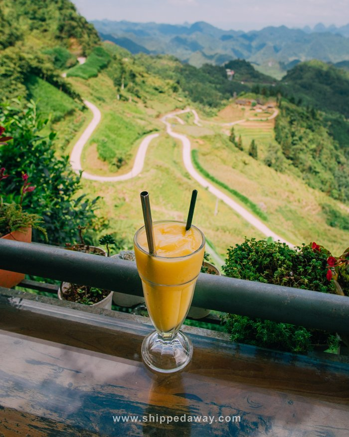 Viewpoint at Heavens Gate in Ha Giang
