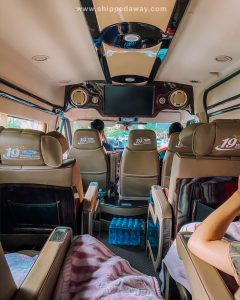 Limousine bus from Hanoi to Ha Giang