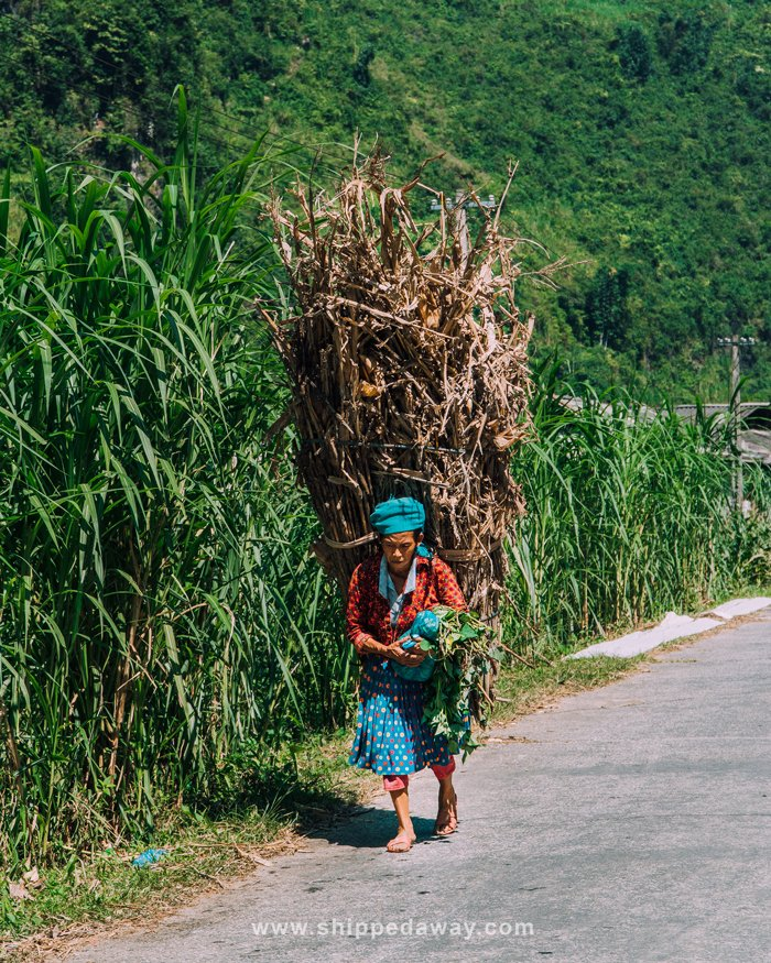 Local life in Du Gia, Ha Giang province